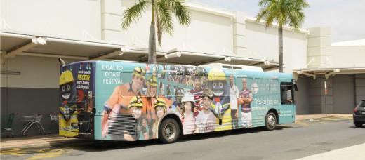 Mackay Transit Bus